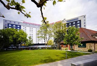 Hotel Steigenberger Airport Hotel Frankfurt Außenaufnahme