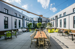Hotel Arcotel Donauzentrum Außenaufnahme