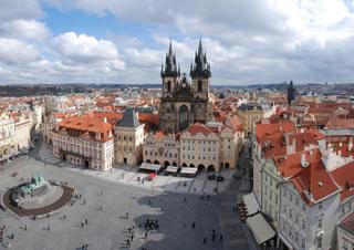Hotel International Prague Stadtansicht