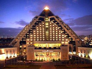 Hotel Raffles Dubai Außenaufnahme