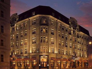 Hotel Art Deco Imperial Prag Außenaufnahme