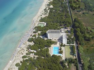 Hotel Ecoresort Le Sirene Luftaufnahme