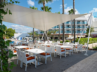 Hotel Hipotels Cala Millor Park Terasse