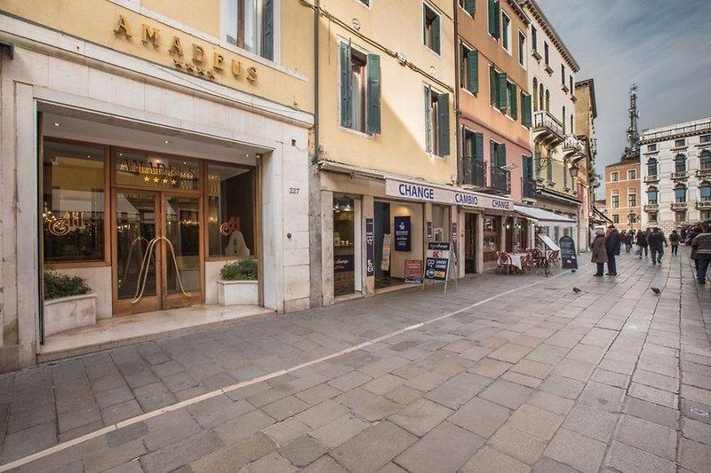 Venedig Schnäppchen Hotel Amadeus