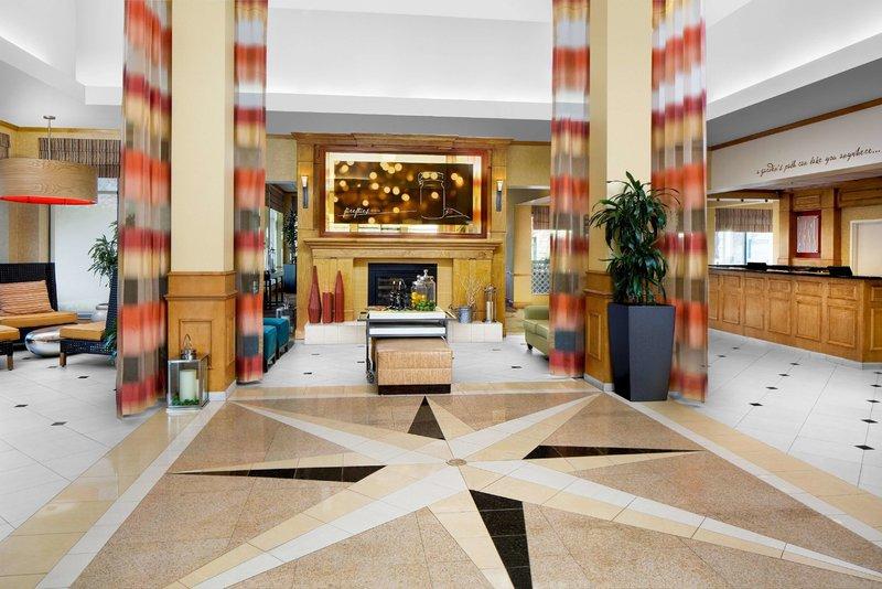 Hilton Garden Inn Atlanta Airport/Millenium Center Lounge/Empfang