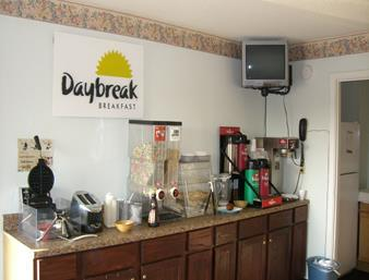 Days Inn Plymouth Frühstücksraum