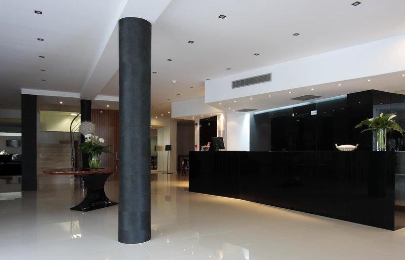As Americas Hotel Art Nouveau & Design Lounge/Empfang