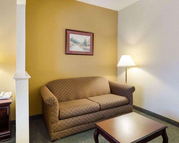 Comfort Suites Bush Intercontinental Airport Wohnbeispiel