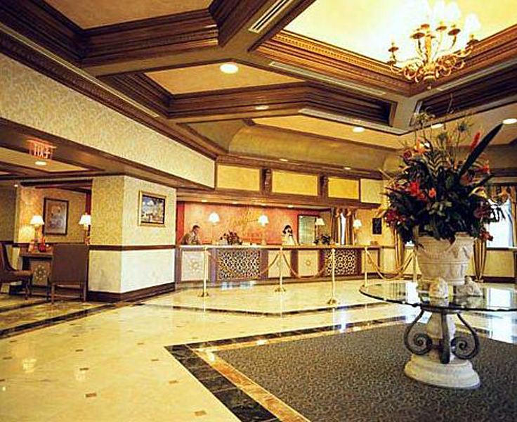 Wyndham Grand Desert Lounge/Empfang