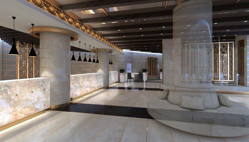 Grand Marina Lounge/Empfang