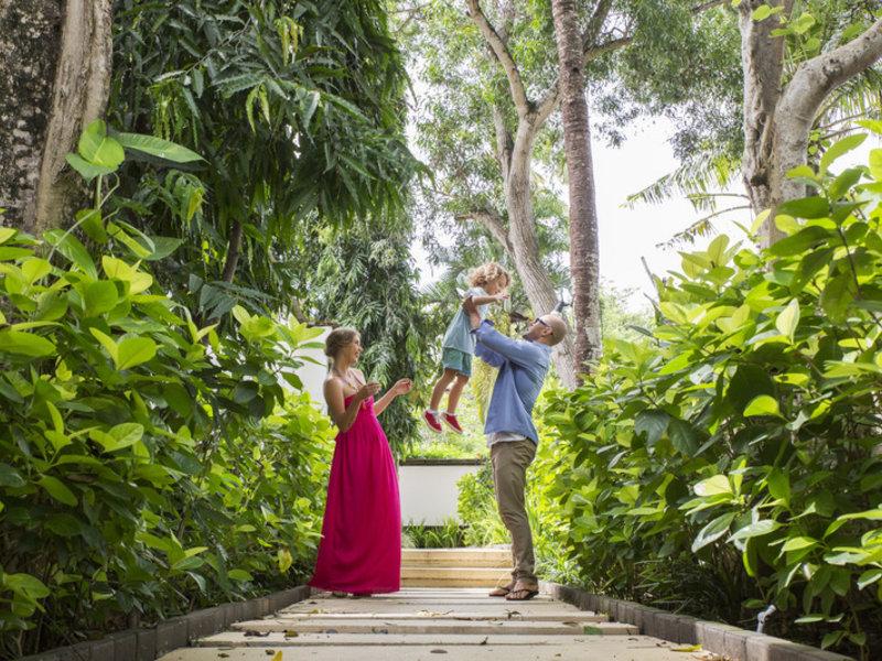 Karma Jimbaran Resort Garten