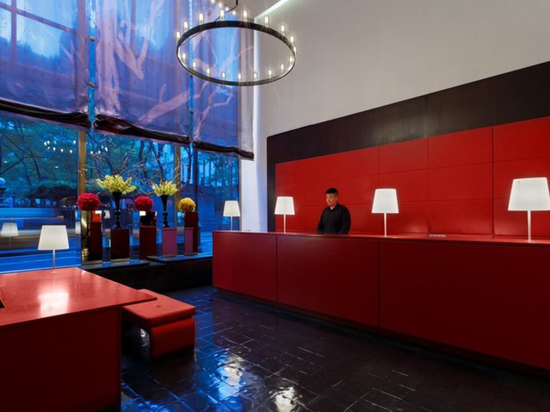Bryant Park Lounge/Empfang