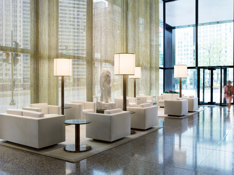 The Langham Chicago Lounge/Empfang