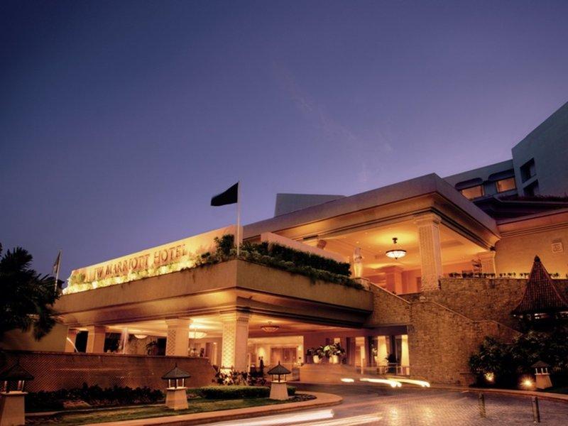 JW Marriott Mumbai Juhu Außenaufnahme