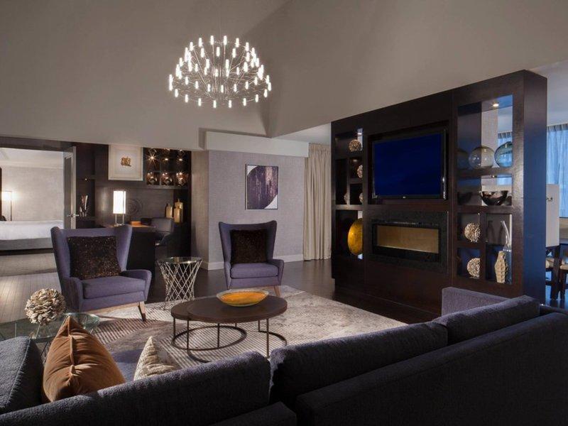 Dallas Marriott City Center Lounge/Empfang