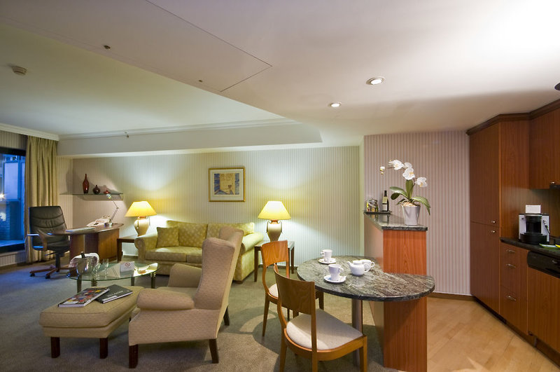 B-Aparthotel Ambiorix Lounge/Empfang