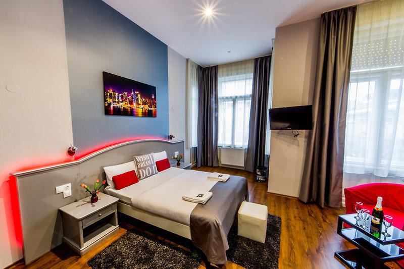 Full Moon Design Hostel Budapest Wohnbeispiel