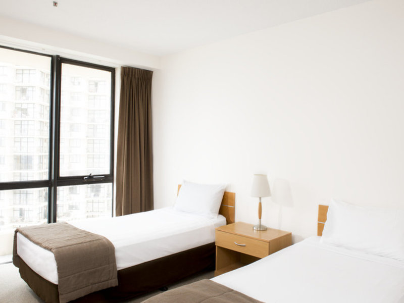 Paradise Centre Apartments Wohnbeispiel
