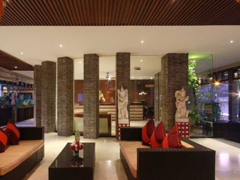 The Lokha Legian Lounge/Empfang