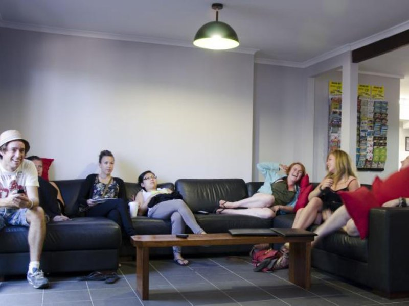 Base Backpackers Airlie Beach Lounge/Empfang