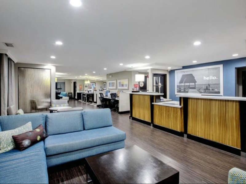 Hampton Inn & Suites, Hermosa Beach Lounge/Empfang
