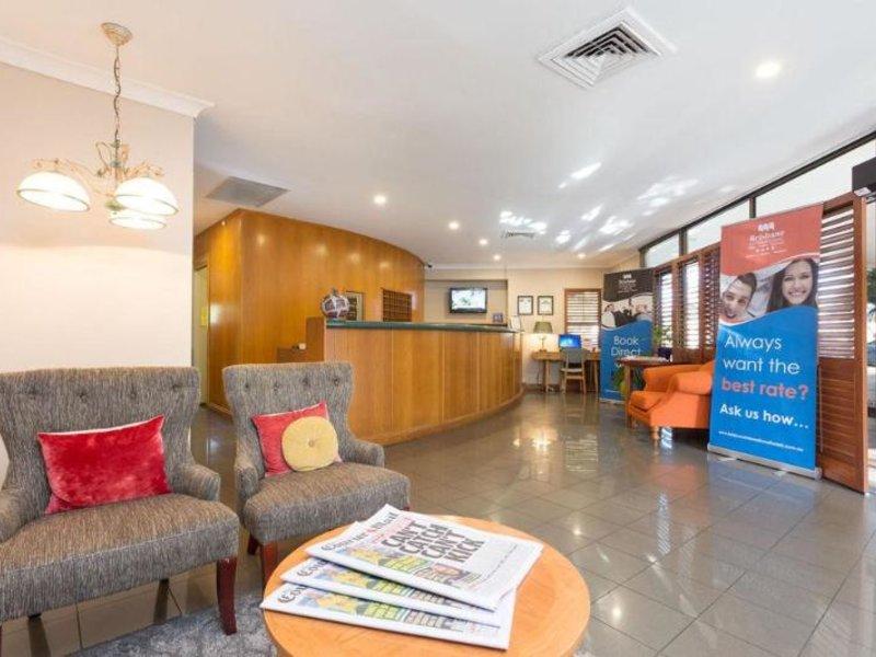 Brisbane International Virginia Lounge/Empfang