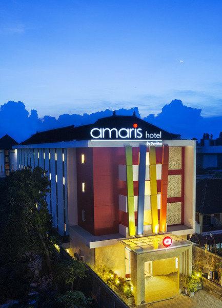 Amaris Hotel Lebak Bene Kuta Terrasse