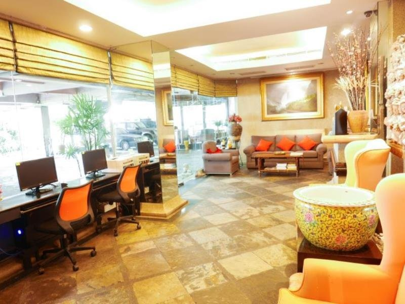 Best Comfort Residential Hotel Lounge/Empfang