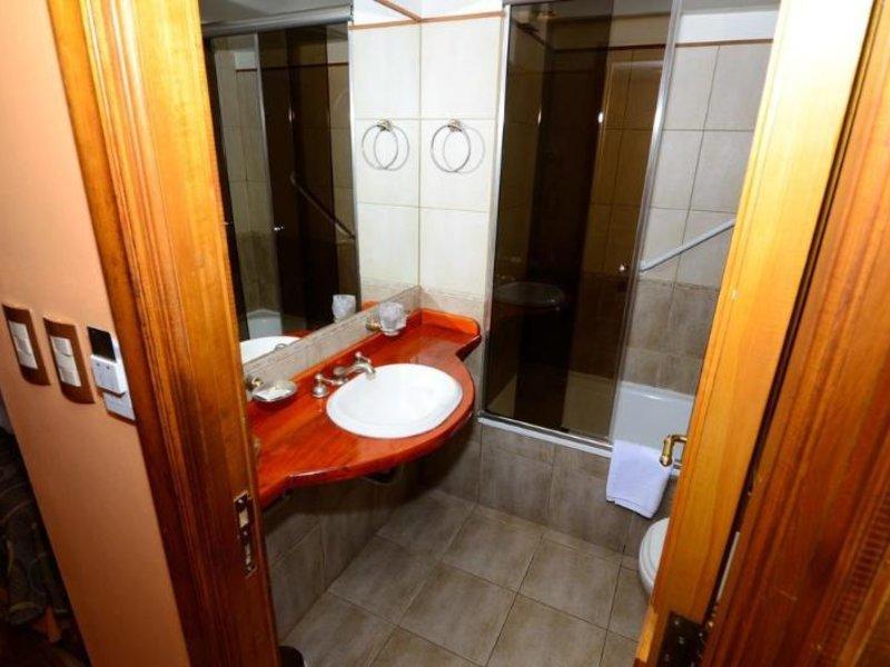 Villa Brescia Hotel Badezimmer