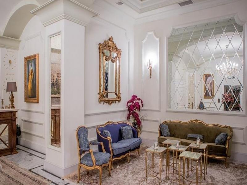 Sapphire City Hotel Lounge/Empfang