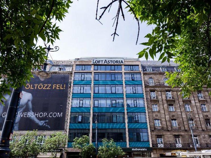 LOFT Astoria Außenaufnahme
