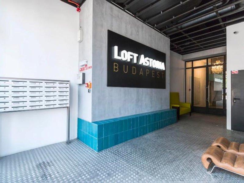 LOFT Astoria Lounge/Empfang