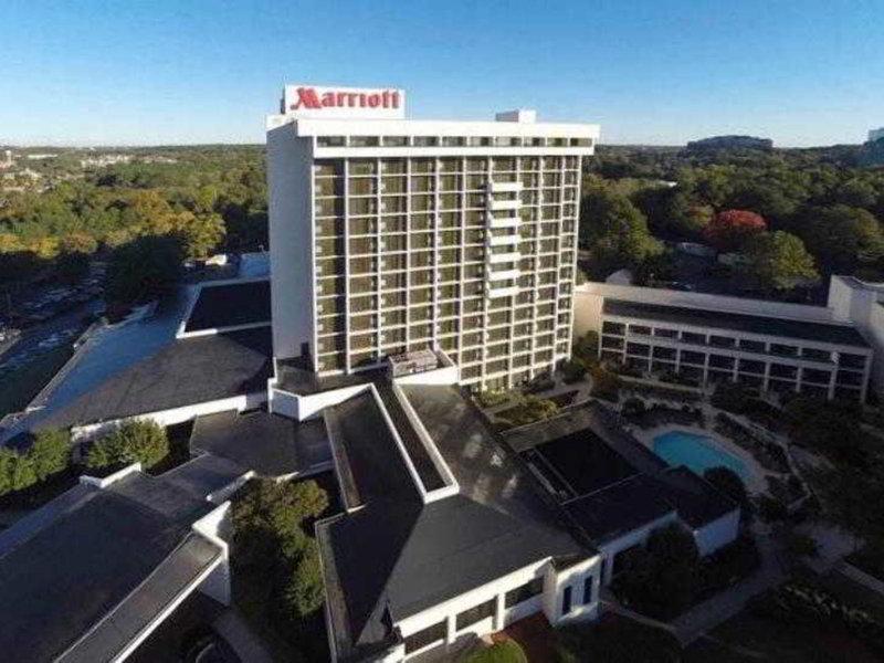 Atlanta Marriott Northwest at Galleria Luftaufnahme