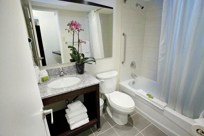 Town Inn Suites Badezimmer