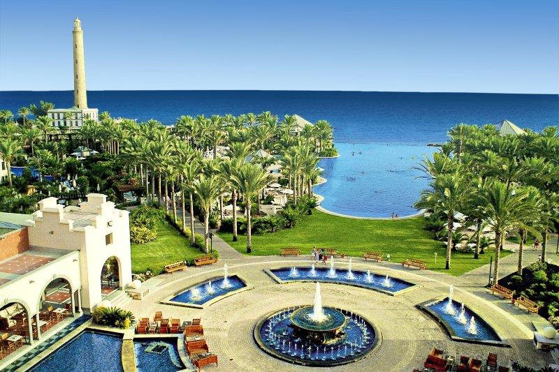 Lopesan Costa Meloneras Resort, Corallium Spa & CasinoGarten