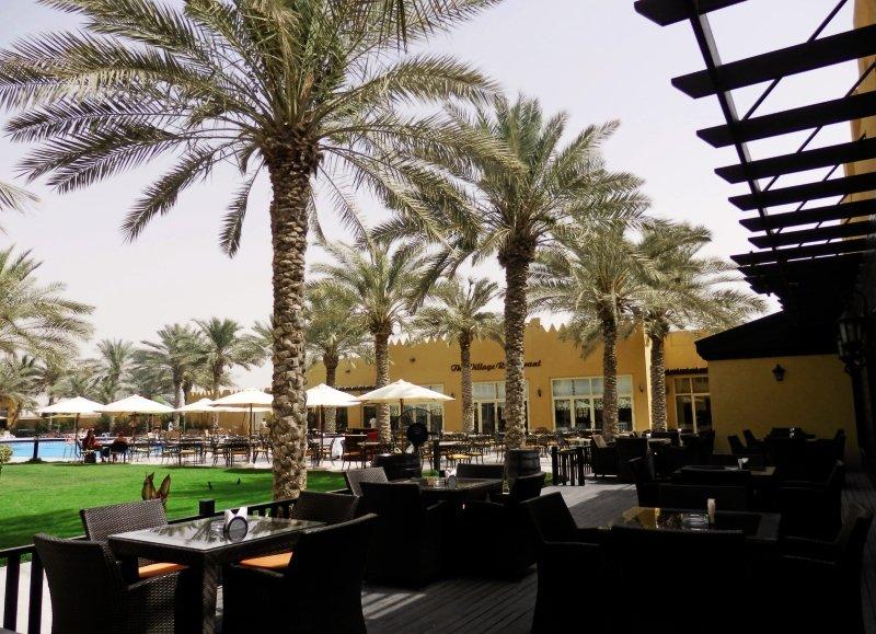 Al Hamra Village Golf & Beach ResortTerasse