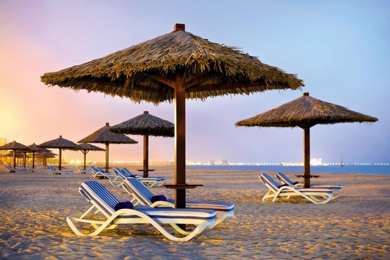 Hilton Al Hamra Beach & Golf ResortStrand