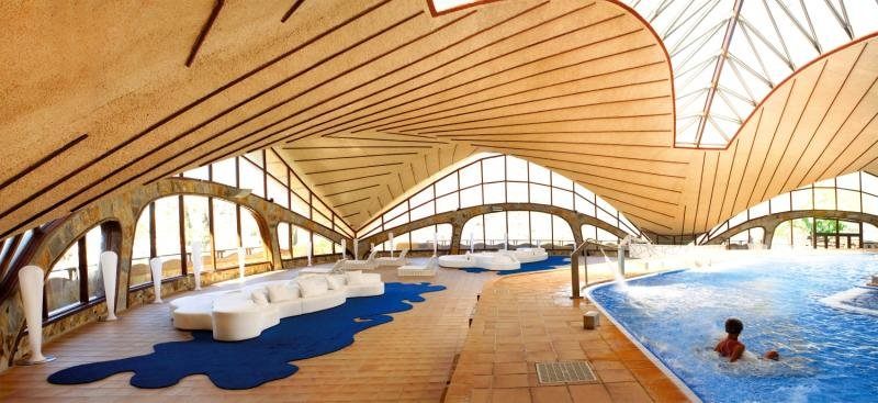 Gloria Palace San Agustin Thalasso & HotelHallenbad