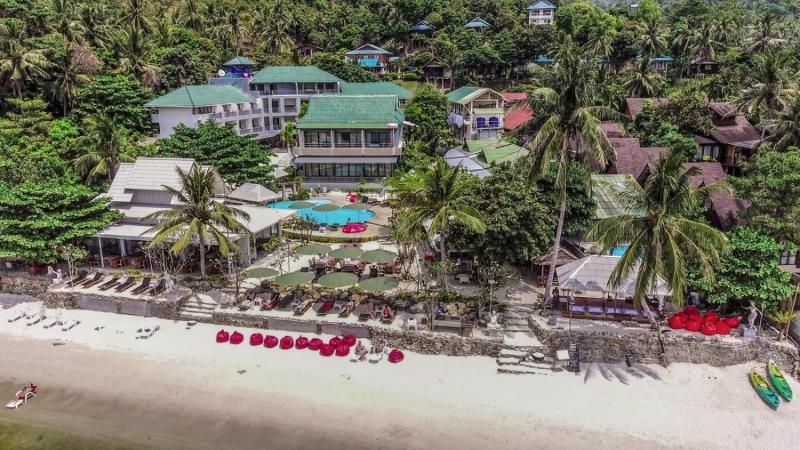 Villa Cha-Cha Koh PhanganStrand