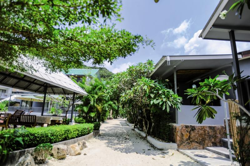 Villa Cha-Cha Koh PhanganGarten