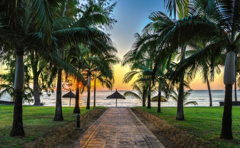 Le Meridien Ile MauriceGarten