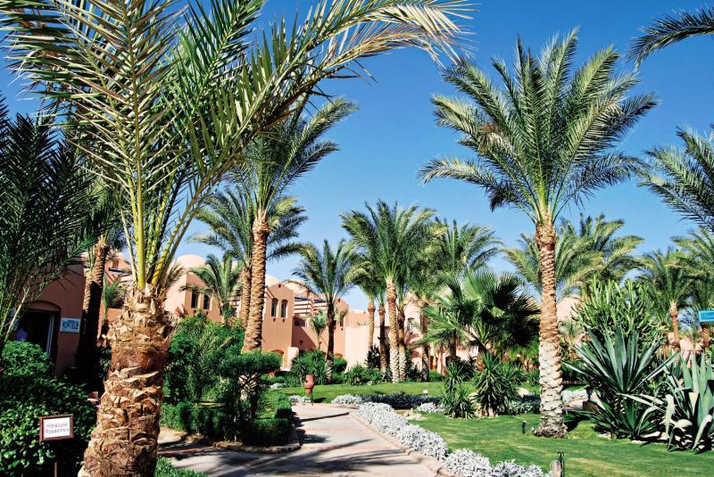 Jaz Makadi Oasis Resort Garten