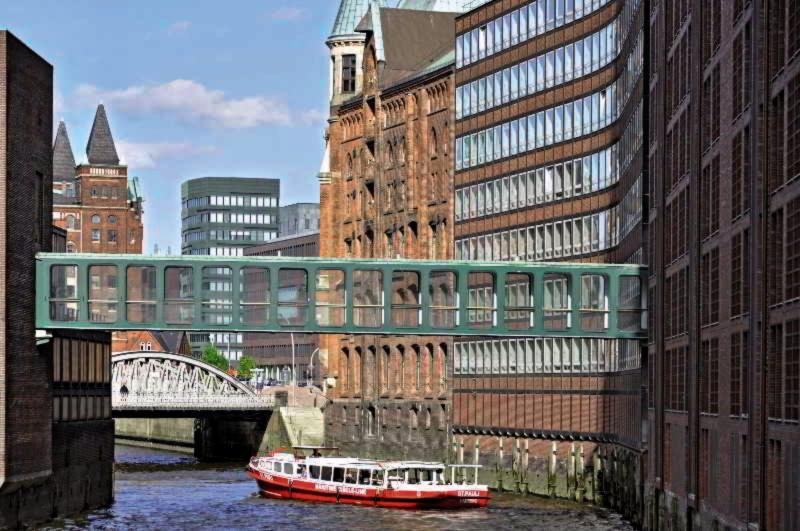 AMERON Hamburg Hotel Speicherstadt Außenaufnahme