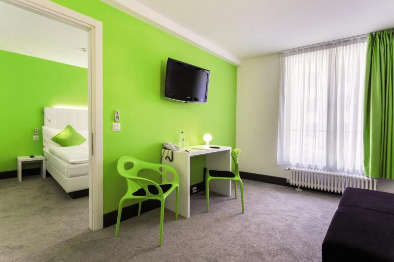 City Inn Basel Badezimmer