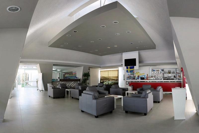 Italy Village  Lounge/Empfang