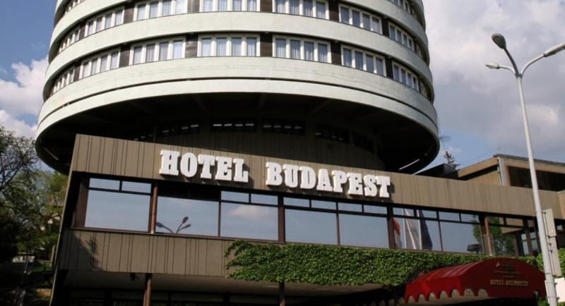 Danubius Hotel Budapest Außenaufnahme