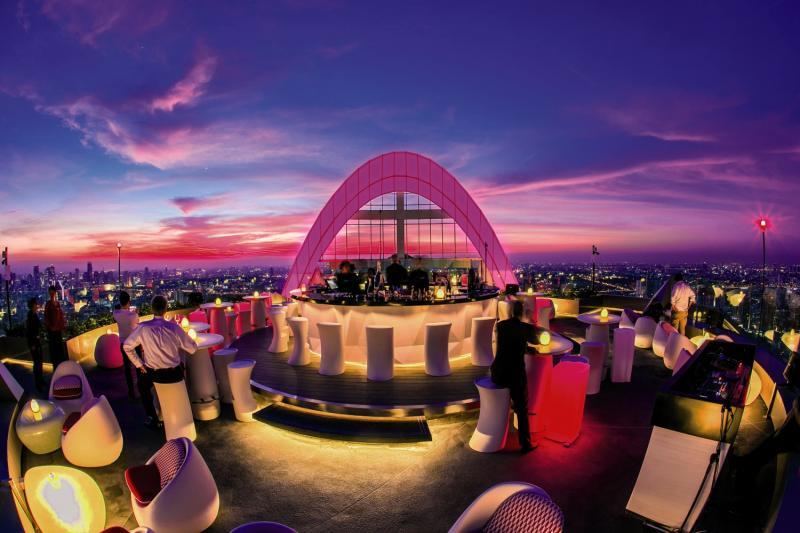 Centara Grand at Central World Terrasse