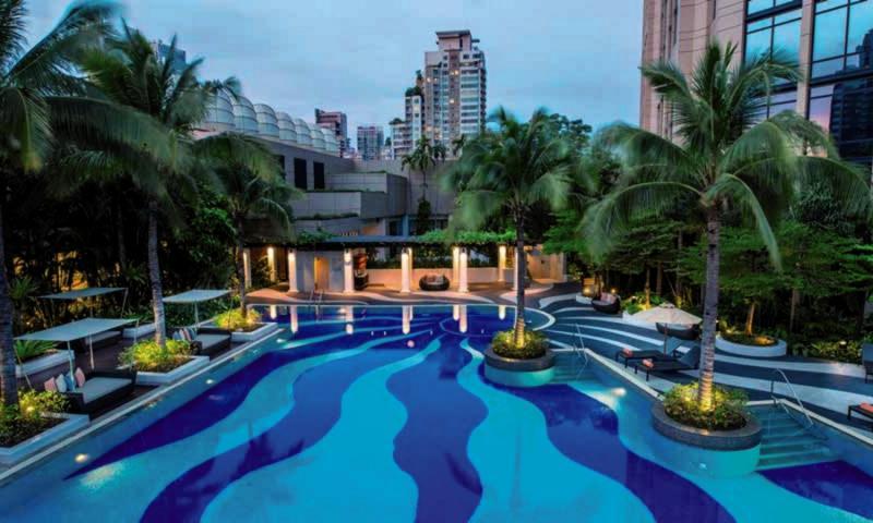 Emporium Suites Pool