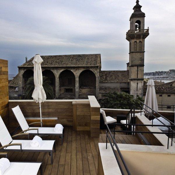 Santa Clara Urban Hotel & Spa Terrasse