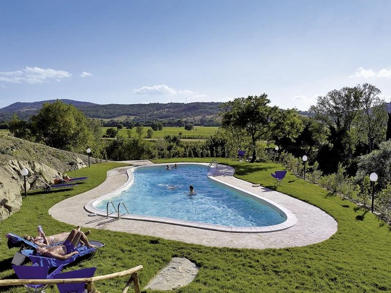 Castello di Monticelli Pool